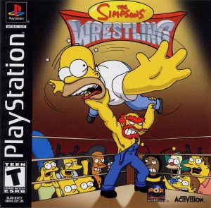 Download The Simpsons Wrestling - Torrent (Ps1)