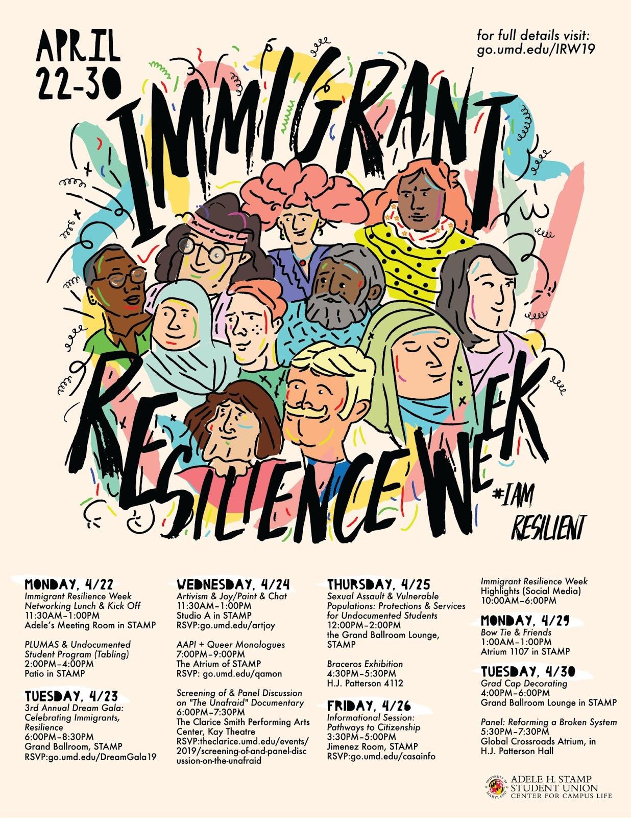 CCJS Undergrad Blog: Immigrant Resilience Week