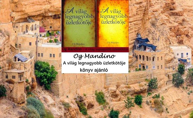 A világ legnagyobb üzletkötője könyv ajánló Og Mandino.