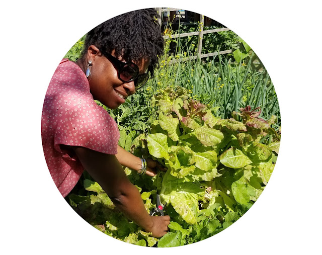 Growing fresh produce in you garden to cook healthy meals for your family