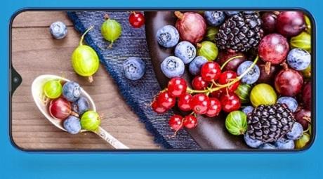 صورة توضيحية لهاتف Samsung Galaxy A10