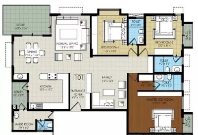 Prestige Finsberry Park Floor Plan