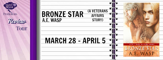 Review Tour incl Review & Giveaway: Bronze Star: A Veterans Affairs Novel by A. E. Wasp