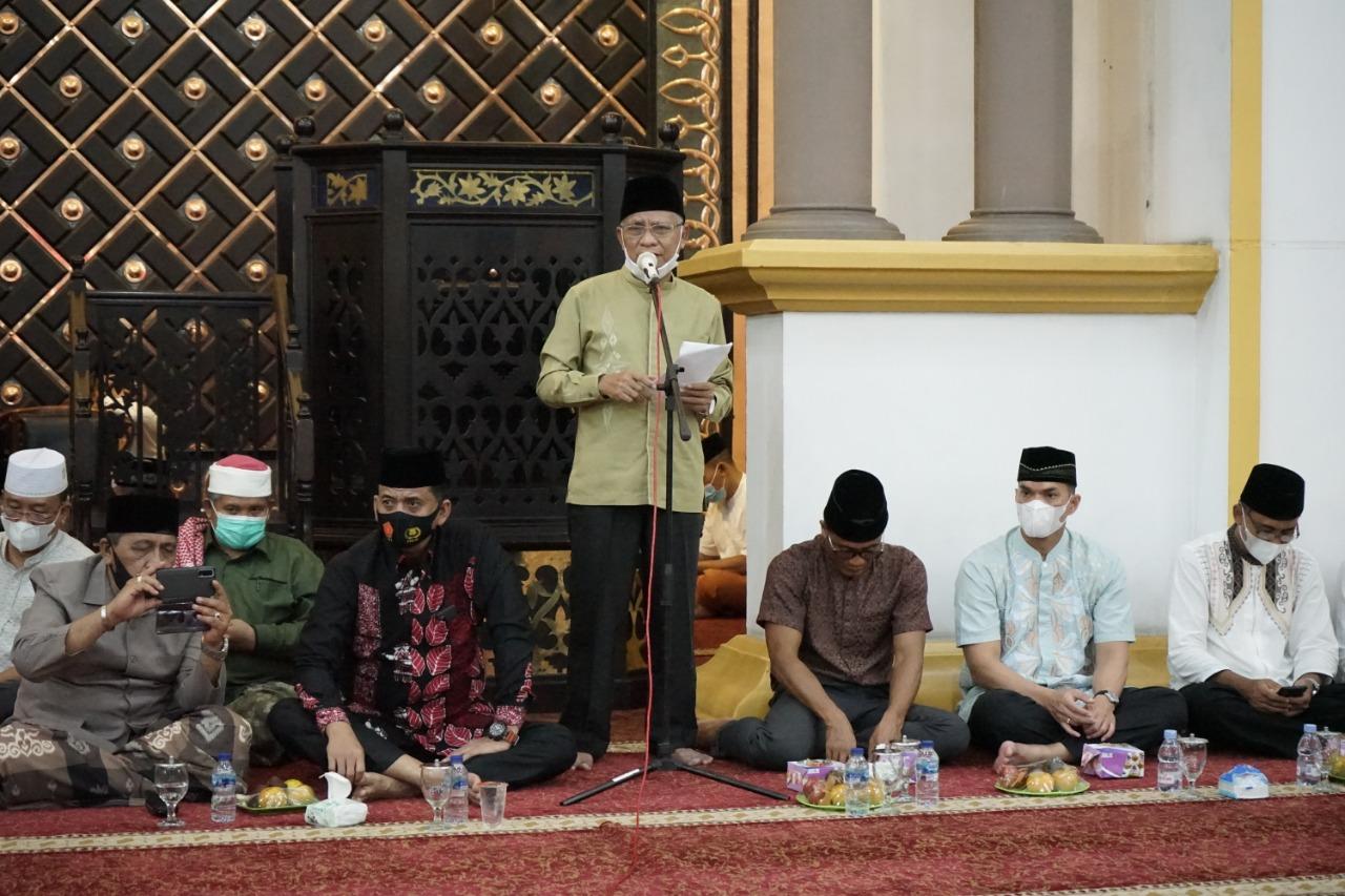 Tingkatkan Keimanan dan Ketaqwaan Terhadap Allah SWT, Pemkab Asahan Gelar Peringatan Malam Nuzulul Qur'an