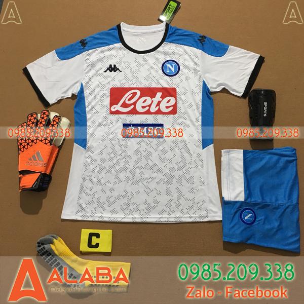 Áo Napoli 2020 Sân Khách Màu Trắng
