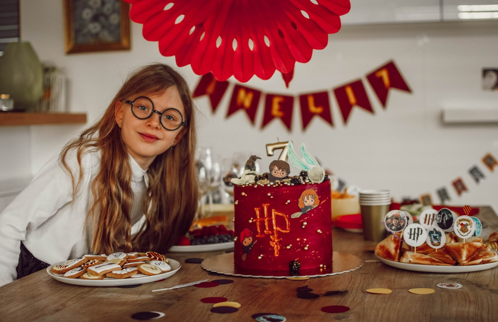 Narozeniny // Nelinčina oslava ve stylu Harryho Pottera