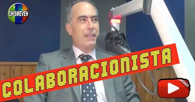 COLABORACIONISTA    Roberto Picón ve necesarias las negociaciones con el Usurpador