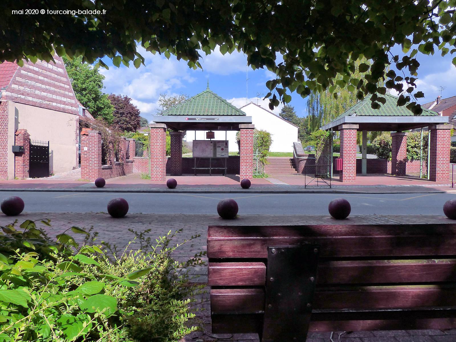 Arrêt Bus Église, Templemars 2020