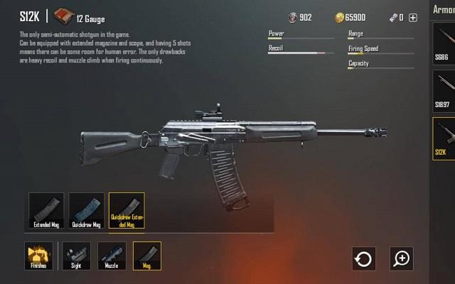 Các khẩu shotgun đều rất giật cùng độ chum đạn thấp nên độ chuẩn xác không tốt
