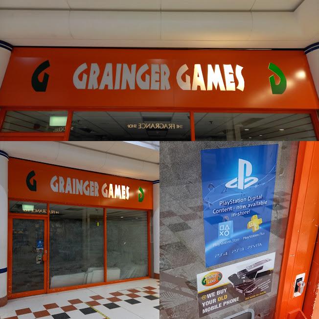 Grainger Games in Salford Shopping Centre