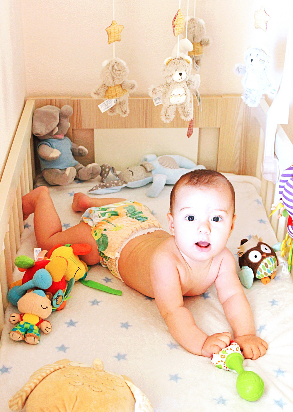 how many diapers needs a 3-6 months old baby; koliko pelena treba bebi