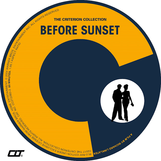 Before Sunset Bluray Label