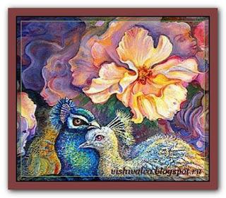 "HAED HAEJWQS011 ""Peacock Love"""