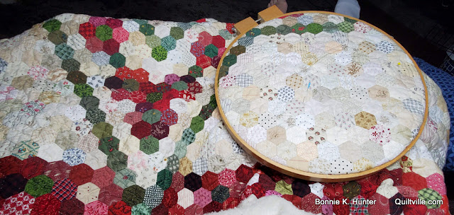 Quilter At Work!