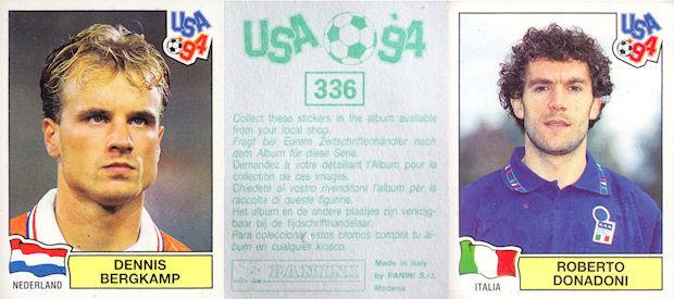 dos vert # 342 Ignacio ambriz-Mexique PANINI-USA 94 world cup