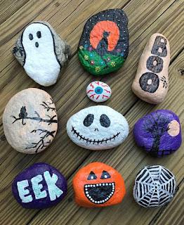 камни к хэллоуину