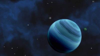 A água é comum nos exoplanetas, mas não é tão abundante quanto o esperado