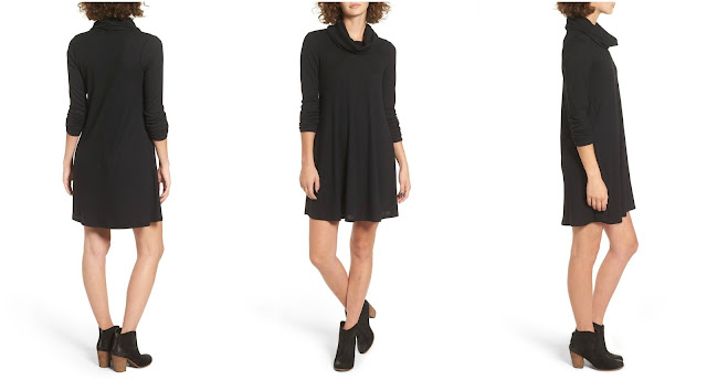 Socialite Maddie Rib Knit Cowl Shift Dress $29 (reg $49)