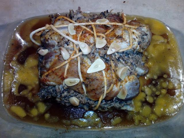 karkowka faszerowana pieczarkami karkowka pieczona w piekarniku pieczen z karkowki domowa wedlina karkowka na kanapki baleron karczek pieczony mieso pieczone