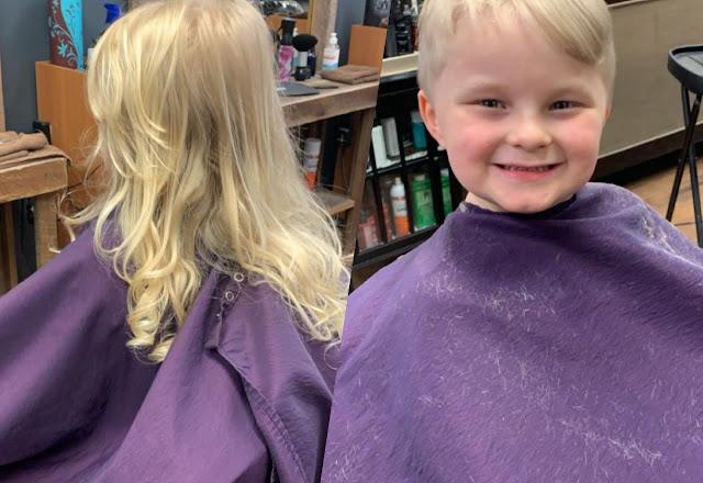 15 смельчаков, которые обрезали свои волосы ради онкобольных и только стали ещё красивее