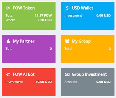 Bonus Crypto Tanpa Deposit FOW $10