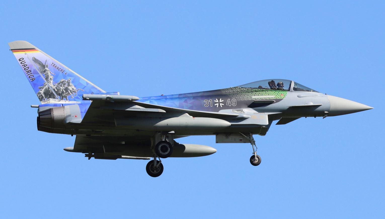 "German Eurofighter ""Quadriga"" Typhoon"