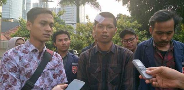 Diduga Dihajar Oknum Polisi, Dua Mahasiswa Demo 24 September Resmi Lapor Propam