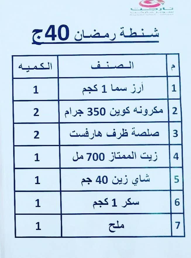 عروض كرتونة رمضان 2020 من تارجت ماركت المنيا