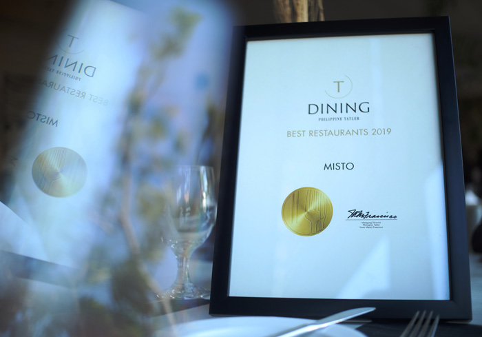Seda Abreeza's all-day dining restaurant remains to be recognized   by Philippine Tatler Dining in their Best Restaurants Guide for 2019.