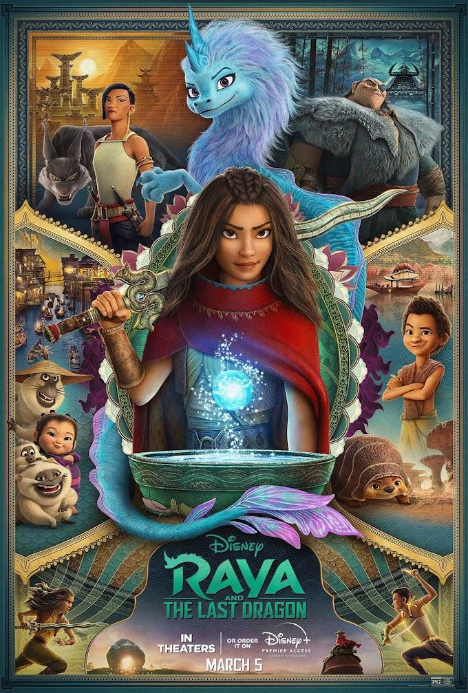Raya and the Last Dragon (2021) 720p | 480p | HEVC WEB-HD ENGLISH x264 1.0GB | 350MB | 550MB