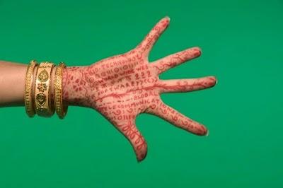 Plantillas de Tatuajes para Manos y Pies con Henna