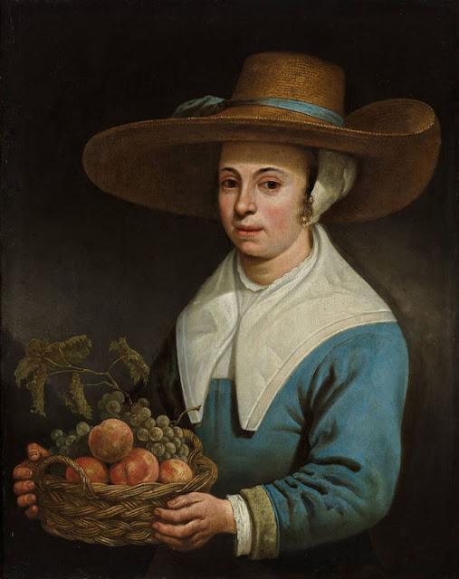 Альберт Кёйп - Девушка в соломенной шляпе. ок1640