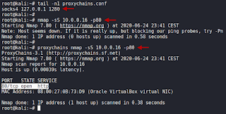 Pivoting entre redes locales internas con Proxychains