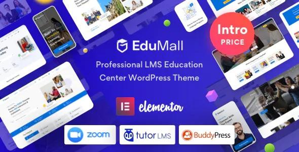 Best Professional LMS Education Center WordPress Theme