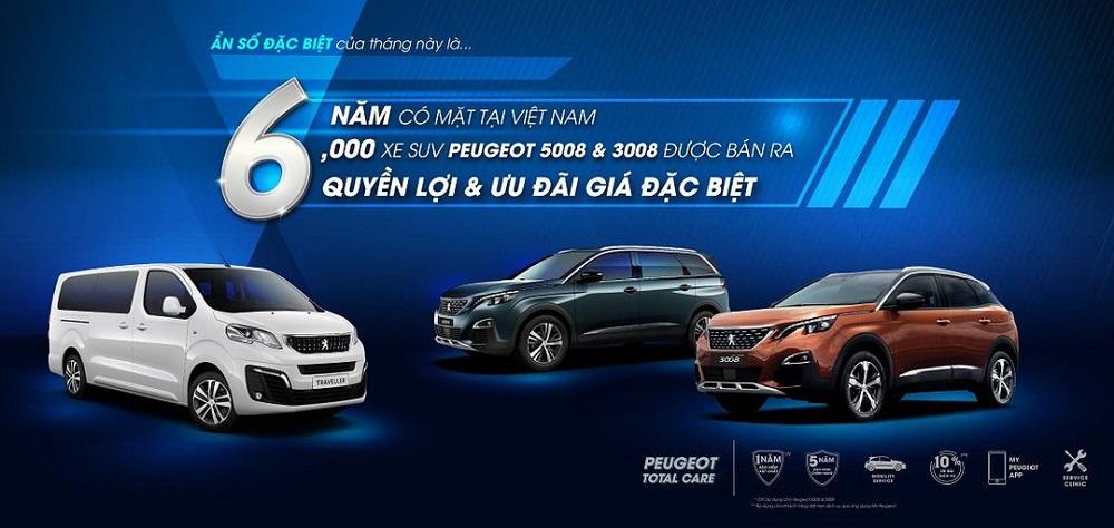 Peugeot ưu đãi giá đặc biệt đến 50 triệu trong tháng 9