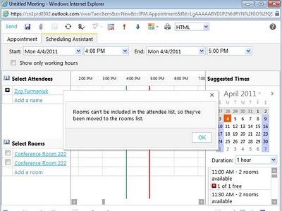 Sumatra's Calendar Server Blog: Creating a Room in Office 365 Beta