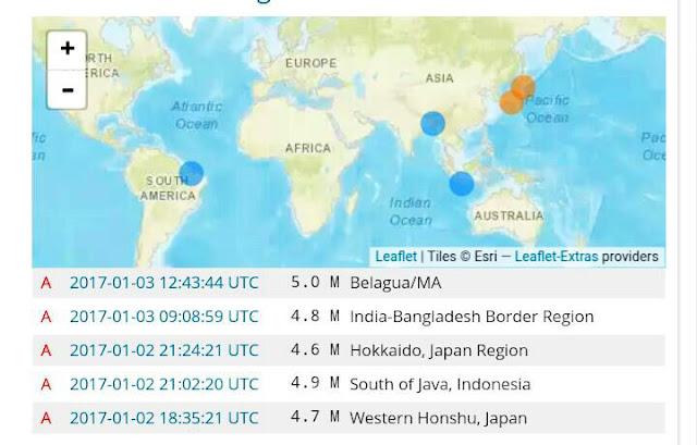 Terremoto sacode Maranhão e parte do Piau