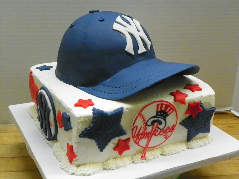 a9f4b81ce68 Plumeria Cake Studio  NY Yankees Baseball Cap Cake
