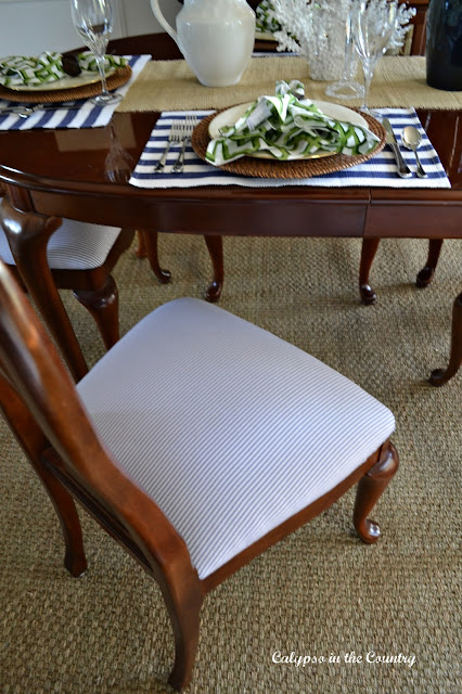 Dining Chair Seatcover update