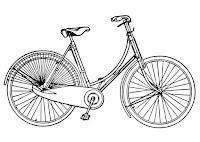 תמונות אופניים לצביעה