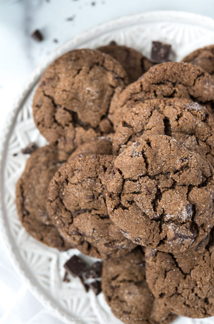 Closeup of Gingerbread Cookies