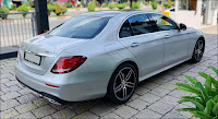 Mercedes E300 AMG 2018 đã qua sử dụng màu Bạc