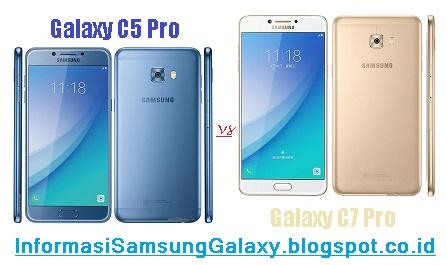 Perbandingan Samsung Galaxy C5 Pro vs C7 Pro