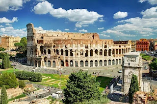 कालीज़ीयम और कांस्टेंटाइन का आर्क - The Colosseum and the Arch of Constantine