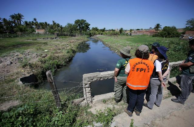Fiscalização preventiva e integrada, força-tarefa flagra lançamento de esgoto em afluente do Rio São Francisco