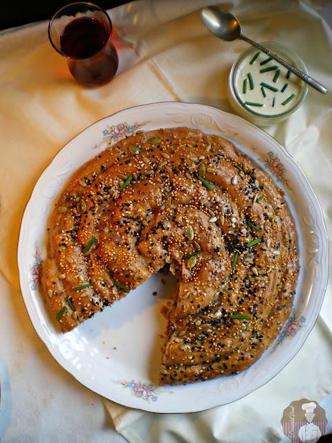 Börek con harina de espelta