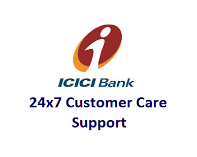 ICICI 24x7 Customer Care Toll Free Number