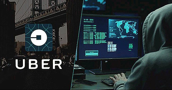 uber data breach hackers extorted money