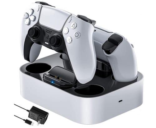NEWDERY PS5 Controller Charger Station