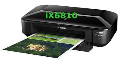 Canon PIXMA iX6810 Driver, Setup, Download, Ink